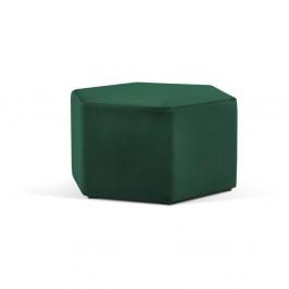 Fľaškovo zelený puf Milo Casa Marina, ⌀ 80 cm