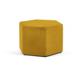 Žltý puf Milo Casa Marina, ⌀ 60 cm