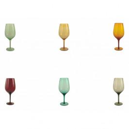 Sada 6 pohárov Villa d'Este Happy Hour