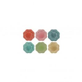 Súprava 6 farebných tanierov Villa d'Este Colori, ø 33 cm