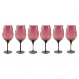 Súprava 6 fialových pohárov Villa d'Este Happy Hour