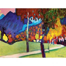 Reprodukcia obrazu Vasilij Kandinskij - Abstract, 80×60 cm