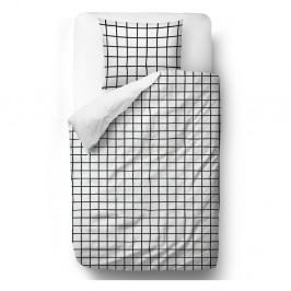 Obliečky z bavlneného saténu Butter Kings Simple Checkers, 200 x 200 cm