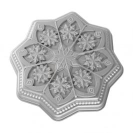 Forma na bábovku Nordic Ware Shortbread Snowflake, 1,4 l