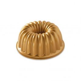 Forma na bábovku v zlatej farbe Nordic Ware Elegant, 2,4 l