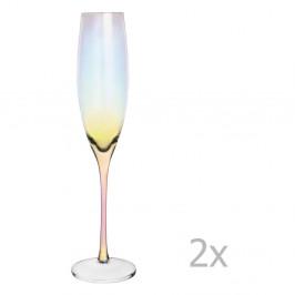 Sada 2 pohárov na sekt Orion Luster, 220 ml