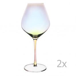Súprava 2 pohárov na červené víno Orion Luster, 650 ml