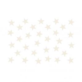 Veľkoformátová tapeta Bimago Beige Stars, 400 x 280 cm