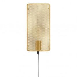 Nástenné svietidlo v zlatej farbe Markslöjd Mesh Wall Gold
