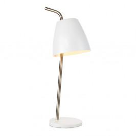 Biela stolová lampa Markslöjd Spin Table White