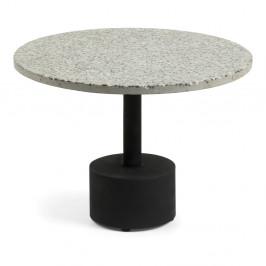 Sivý príručný stolík La Forma Melano
