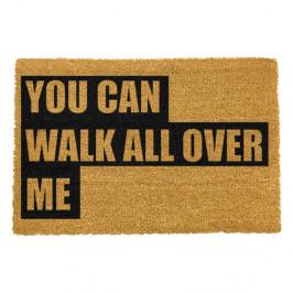 Rohožka z prírodného kokosového vlákna Artsy Doormats Walk All Over Me, 40 x 60 cm