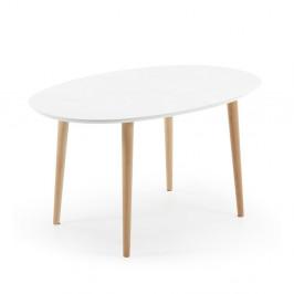 Rozkladací jedálenský stôl z bukového dreva La Forma Oakland, dĺžka 140-220cm
