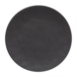 Sivý kameninový podnos Costa Nova Roda Ardosia, ⌀ 22 cm