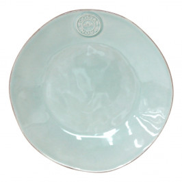 Tyrkysovomodrý kameninový dezertný tanier Ego Dekor Nova, ⌀ 21 cm