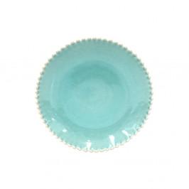 Tyrkysovomodrý kameninový tanier Costa Nova Pearlaqua, ⌀ 28 cm