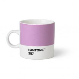 Ružovofialový hrnček Pantone Espresso, 120 ml