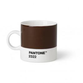 Hnedý hrnček Pantone Espresso, 120 ml