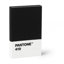 Čierne puzdro na vizitky Pantone