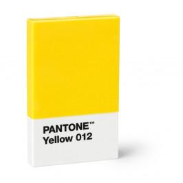 Žlté puzdro na vizitky Pantone