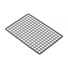Sivá plastová obdélníková podložka do drezu Addis, 36,5 x 24,5 cm