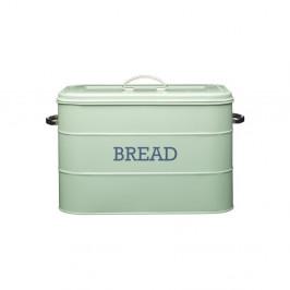 Zelený plechový chlebník Kitchen Craft Nostalgia