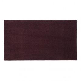 Tmavovínová rohožka Tica copenhagen Unicolor, 60×90 cm