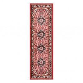 Červený koberec Nouristan Skazar Isfahan, 80 x 250 cm