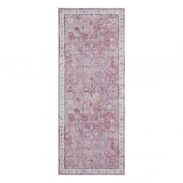 Svetločervený koberec Nouristan Vivana, 80 x 200 cm
