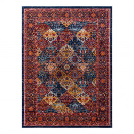 Červený koberec Nouristan Kolal, 80 x 150 cm