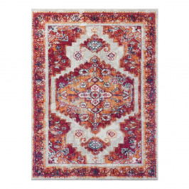 Červený koberec Nouristan Daber, 80 x 150 cm