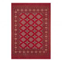 Červený koberec Nouristan Sao Buchara, 80 x 150 cm