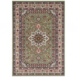 Zelený koberec Nouristan Parun Tabriz, 200 x 290 cm