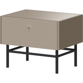 Sivý nočný stolík Germania Monteo