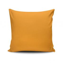 Žltá obliečka na vankúš Riva, 45 x 45 cm