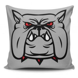Obliečka na vankúš s prímesou bavlny Cushion Love Dog, 45 × 45 cm