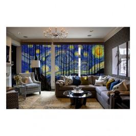 Sada 3 závesov Curtain Malisto, 140×260 cm