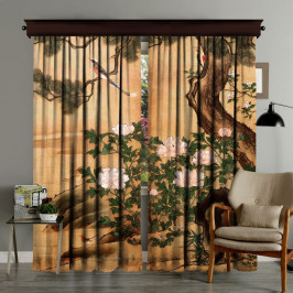 Sada 2 závesov Curtain Palido, 140×260 cm