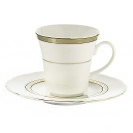 Sada 6 porcelánových šálok s tanierikom Kutahya Pipes, 50 ml