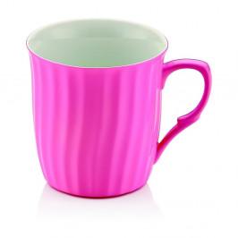Ružový porcelánový hrnček Efrasia