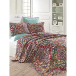 Ľahká prikrývka cez posteľ Gemeos Green, 200x235cm