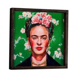 Nástenný obraz Frida Kahlo, 34 × 34 cm