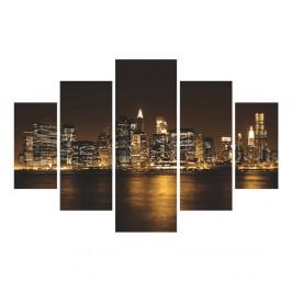 5-dielny nástenný obraz New York City