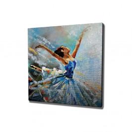 Nástenný obraz na plátne Ballet, 45 × 45 cm