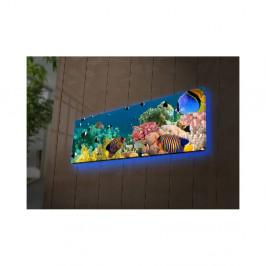 Podsvietený obraz Curtis, 90×30 cm