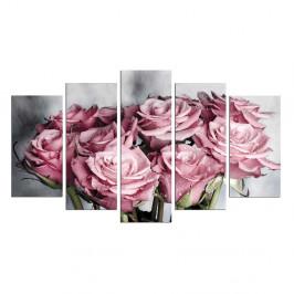 Viacdielny obraz Bouquet, 110×60 cm
