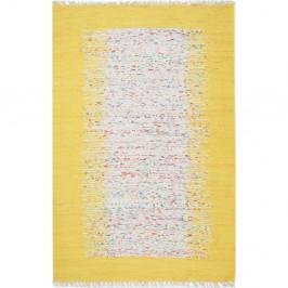 Žltý koberec Eco Rugs Yolk, 120×180 cm