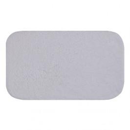 Biela predložka do kúpeľne Confetti Bathmats Organic 1500, 50×85cm