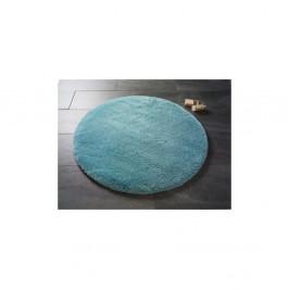 Svetlomodrá okrúhla kúpeľňová predložka Confetti Miami,⌀100 cm