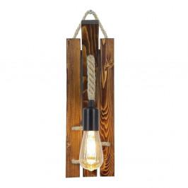 Nástenné svietidlo z borovicového dreva Niki